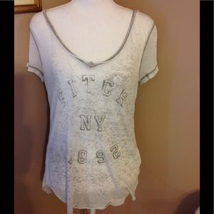 Abercrombie & Fitch short sleeve tee shirt.